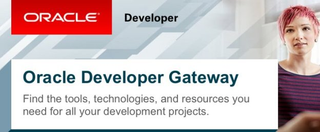 Oracle Developer Gateway banner